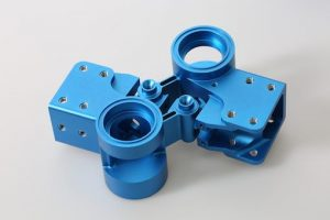 Anodized rapid prototyping parts