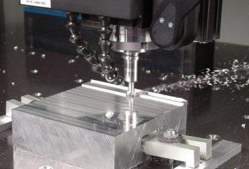 Aluminum CNC milling process