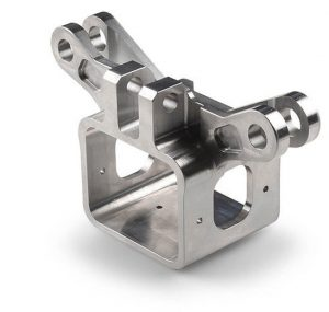 Aluminum CNC machined bracket